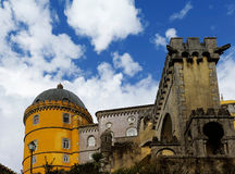 The Pena National Palace, Sintra, Portugal Stock Images