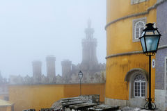 The Pena National Palace, Sintra, Portugal Royalty Free Stock Photos