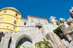 Pena National Palace, Sintra, Portugal Stock Photography