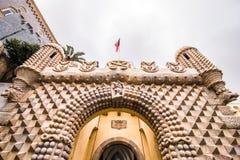 Pena National Palace in Sintra, Portugal Palacio Nacional da Pena Royalty Free Stock Photography