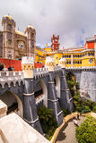 Pena National Palace in Sintra, Portugal Palacio Nacional da Pena Royalty Free Stock Images