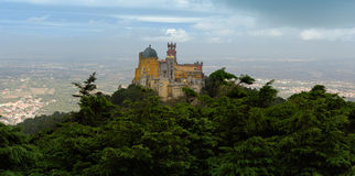 The Pena National Palace, Sintra, Portugal Stock Photography