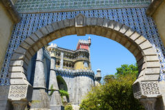Pena National Palace, Sintra, Portugal Stock Image