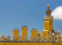 The Pena National Palace in Sintra, Portugal. Stock Photography