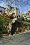The Pena National Palace -Sintra, Portugal Stock Photo