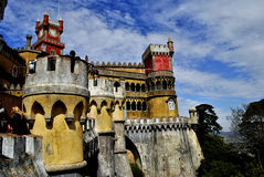 The Pena National Palace -Sintra, Portugal Royalty Free Stock Image