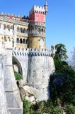 The Pena National Palace in Sintra, Portugal Stock Photo