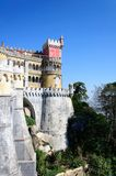 The Pena National Palace in Sintra, Portugal Royalty Free Stock Photography