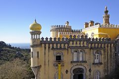 Pena National Palace Stock Photos