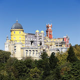 Pena National Palace in Sintra in summer. Portugal Stock Photo