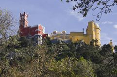 Pena National Palace in Sintra Royalty Free Stock Photo