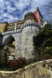 The Pena National Palace Stock Photos