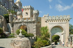National Palace of Pena Stock Photo