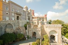 National Palace of Pena Stock Photography
