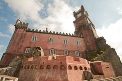 National Palace of Pena Royalty Free Stock Photos