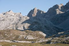 Pena Olvidada - Picos de Europa Stock Photo