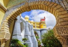 Pena pałac, sintra, Portugal fotografia stock