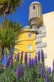 Pena pałac w zarządzie miasta Sintra, Portugalia Zdjęcie Royalty Free