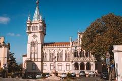 Pena pałac w Sintra, Portugalia - obraz royalty free