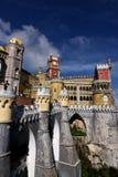 Pena palace. Pena royal palace at Sintra, Portugal Royalty Free Stock Images