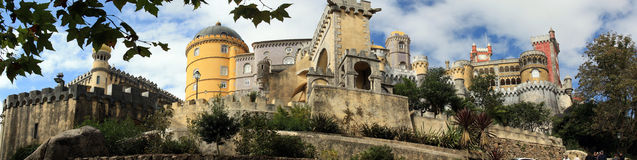 Pena Palace Royalty Free Stock Images