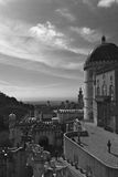 Pena palace black and white Stock Image