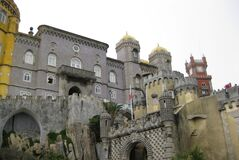 pena-palace-front-view Stock Image