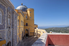 Pena Palace Stock Photography