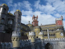 Pena Palace Royalty Free Stock Photos