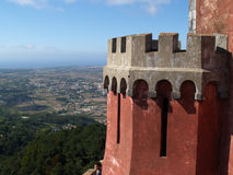 Pena palace in Portugal Royalty Free Stock Image
