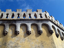 Pena palace in Portugal Royalty Free Stock Images