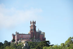 Pena Palace Royalty Free Stock Photography