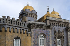 Pena palace in sintra Royalty Free Stock Photo