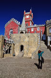 Pena palace, sintra Stock Photos