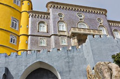 Pena Palace in Sintra Stock Photos
