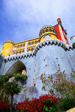 Pena Palace in Sintra. Stock Photography