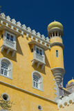Pena palace in Sintra Stock Photo