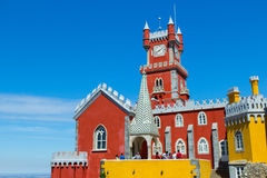 Pena palace in Sintra Stock Photography
