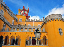 Pena Palace in Sintra National Park Royalty Free Stock Photography