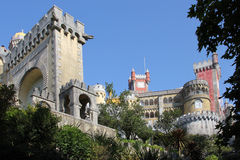Pena palace, Sintra Royalty Free Stock Images