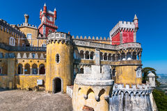 Pena Palace, Sintra Royalty Free Stock Photography