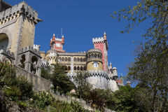 Pena Palace, in Sintra, Portugal Stock Photography