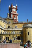 Pena palace in Sintra Stock Photos