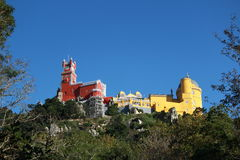 Pena Palace sintra Royalty Free Stock Photo