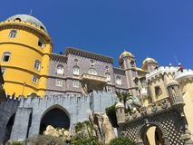 Pena Palace Stock Photo
