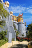 Pena palace. Sintra, Portugal Royalty Free Stock Images