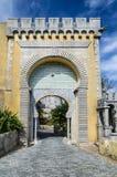 Pena Palace, Sintra, Portugal stock image