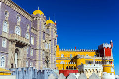 Pena Palace in Sintra, Portugal Royalty Free Stock Photography