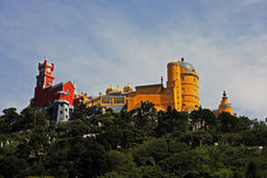 Pena Palace in Sintra, Portugal Stock Image