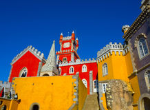 Pena palace, Sintra, Portugal Royalty Free Stock Photography